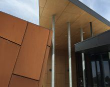 Western Heights College_Au.diPanel_Plywood_Goldcore