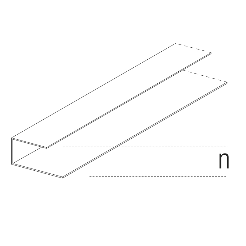 4146 Perimeter Channel 23mm (n=23)