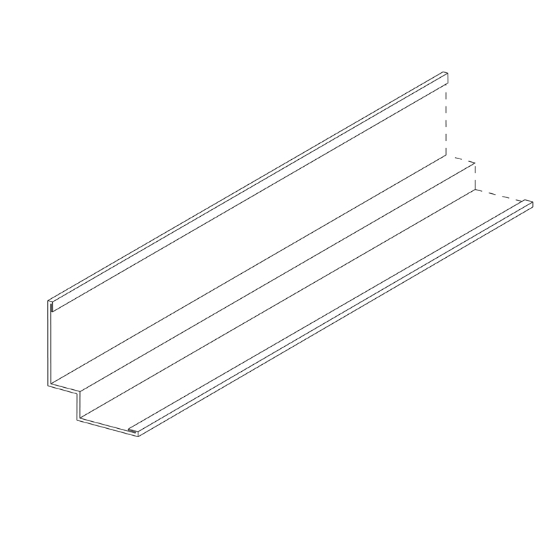 Wall Angle (Shadowline) 27 x 10 x 19mm