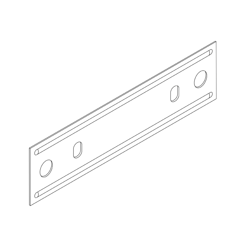 Suspension Rod Bracket Flat