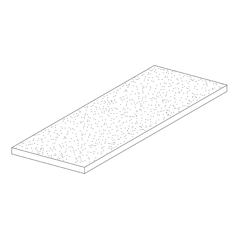 Meridian Fine Fissured Ceiling Tile – Square Edge