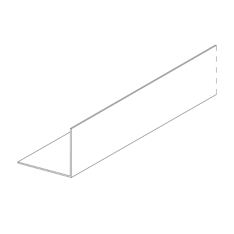 50 x 50mm Backing Angle 0.8mm