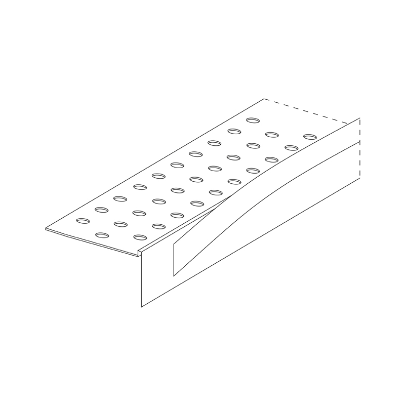 10.0mm PVC Stopping Angle with Tear-Off Strip