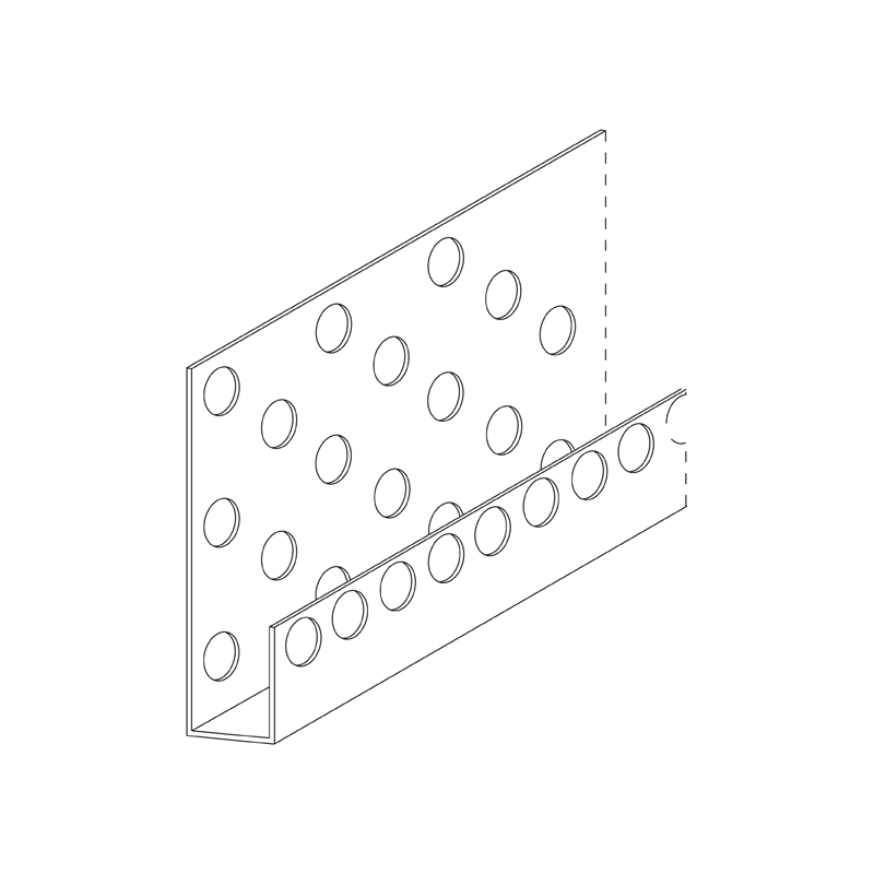 Perforated PVC Comtex Starter Strip