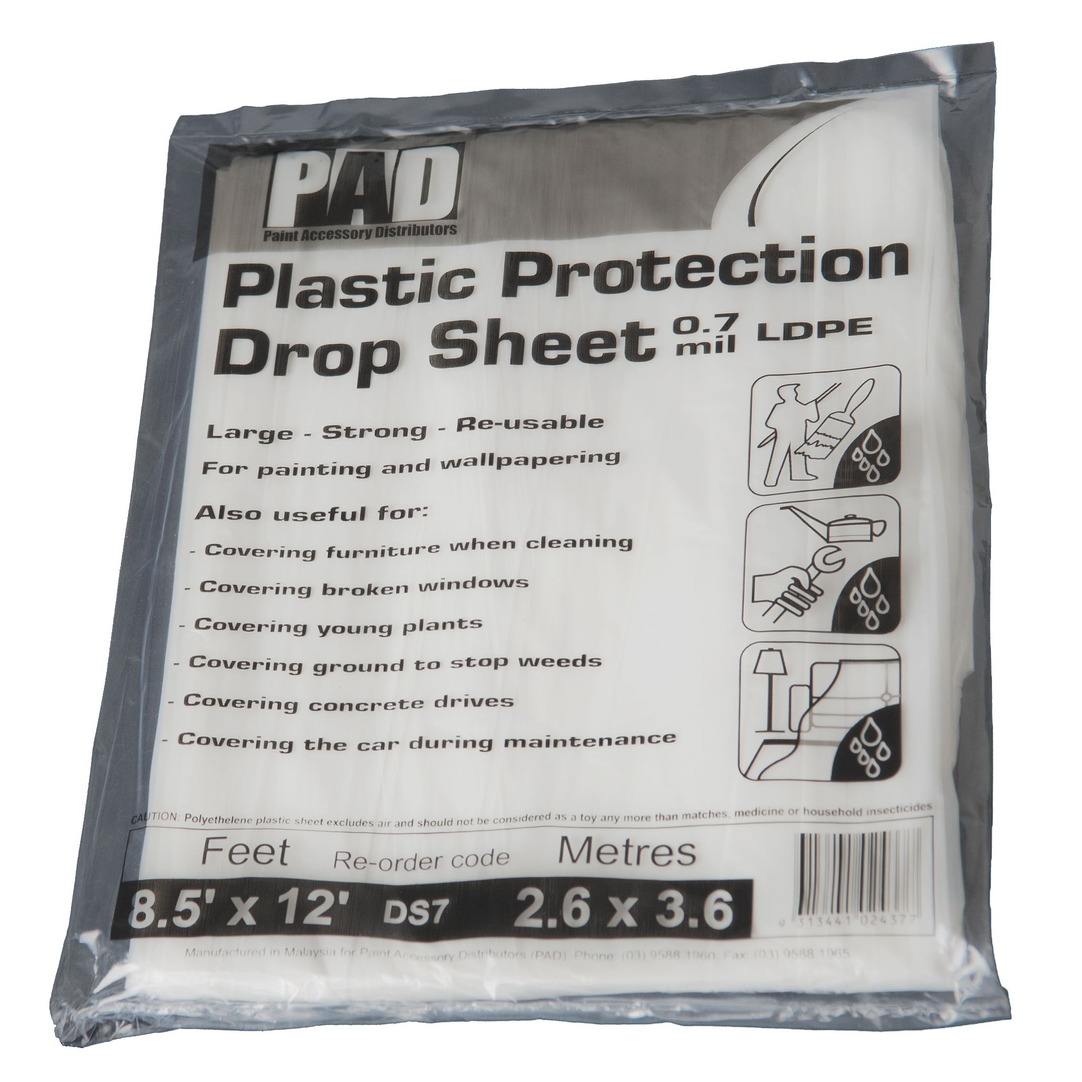 Continuous Dropsheet Roll