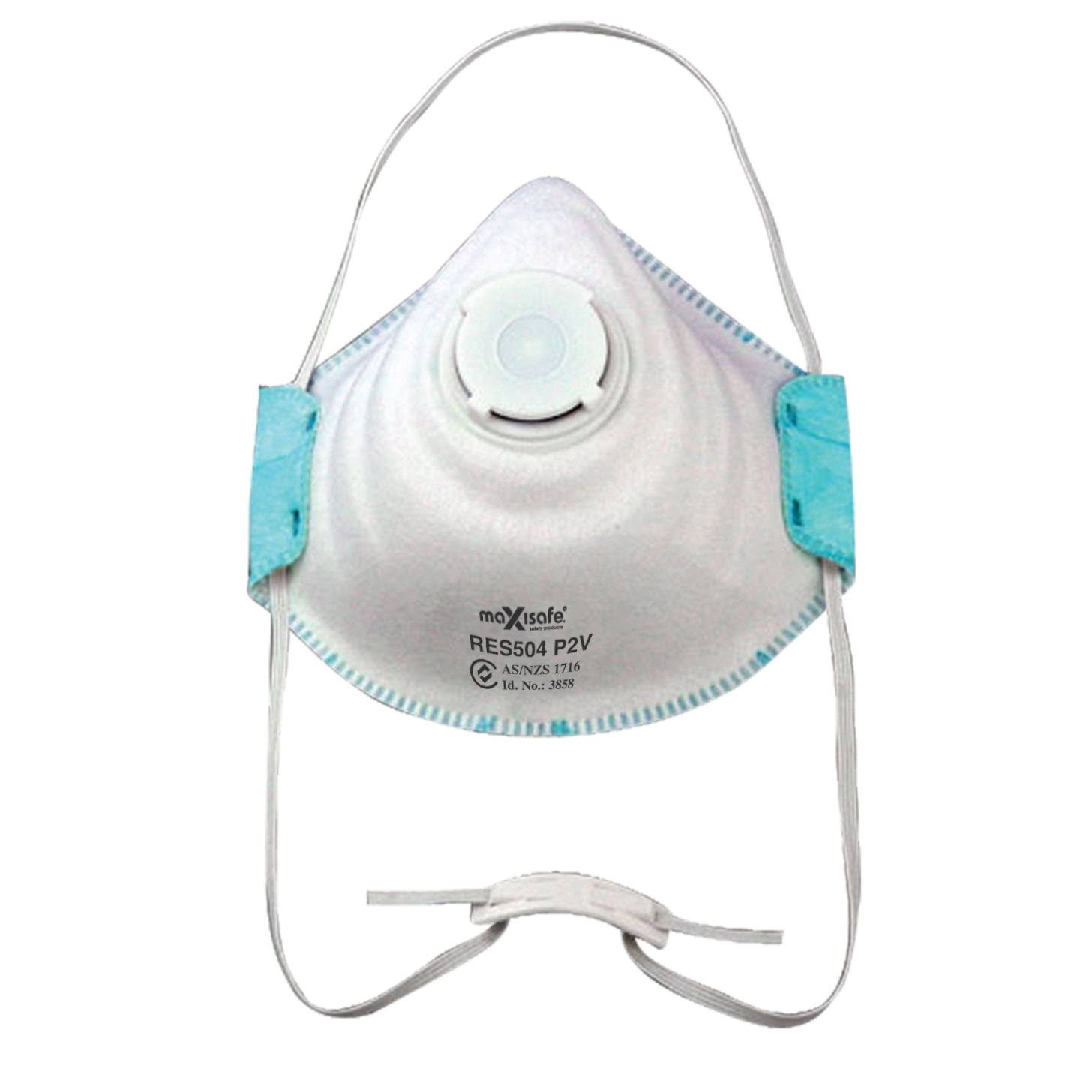 WorkShield - Dust & Mist Respirator with Valve