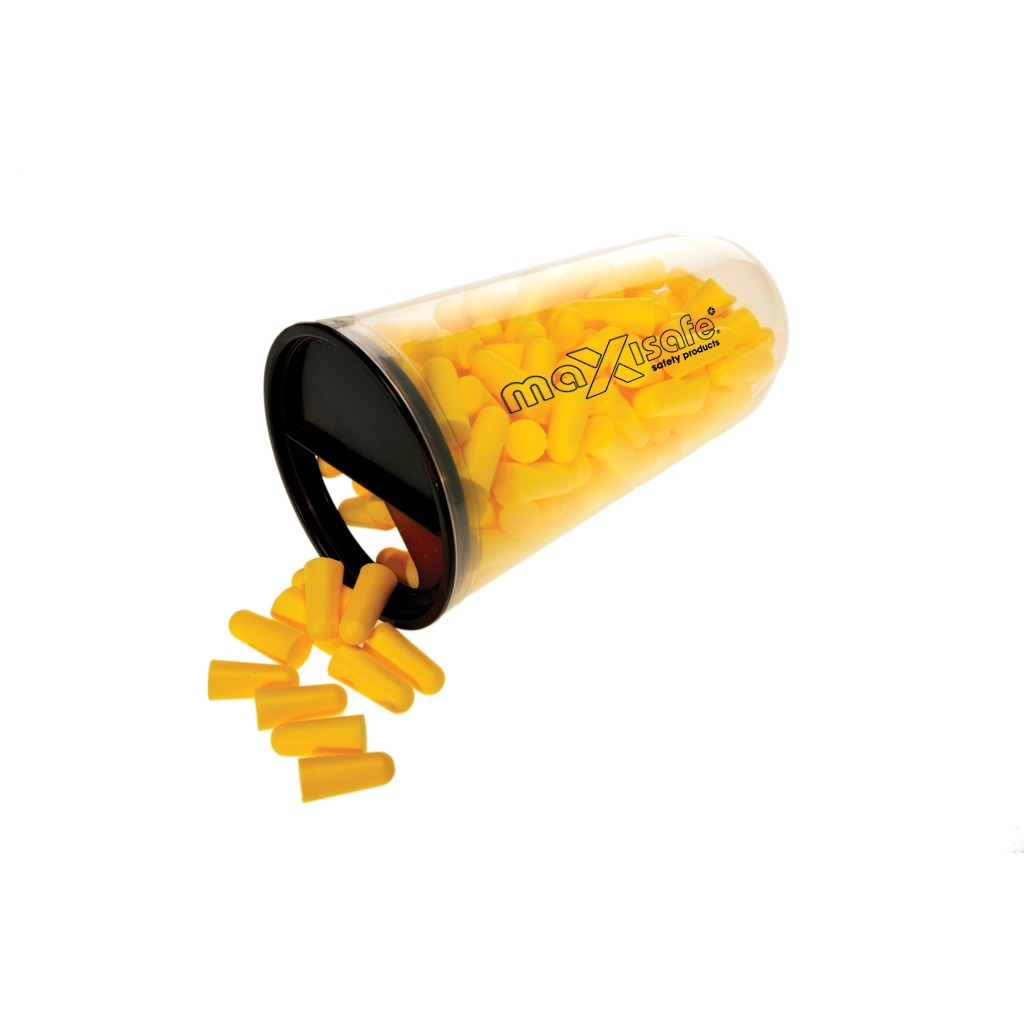 WorkShield - Tapered earplug - Uncorded