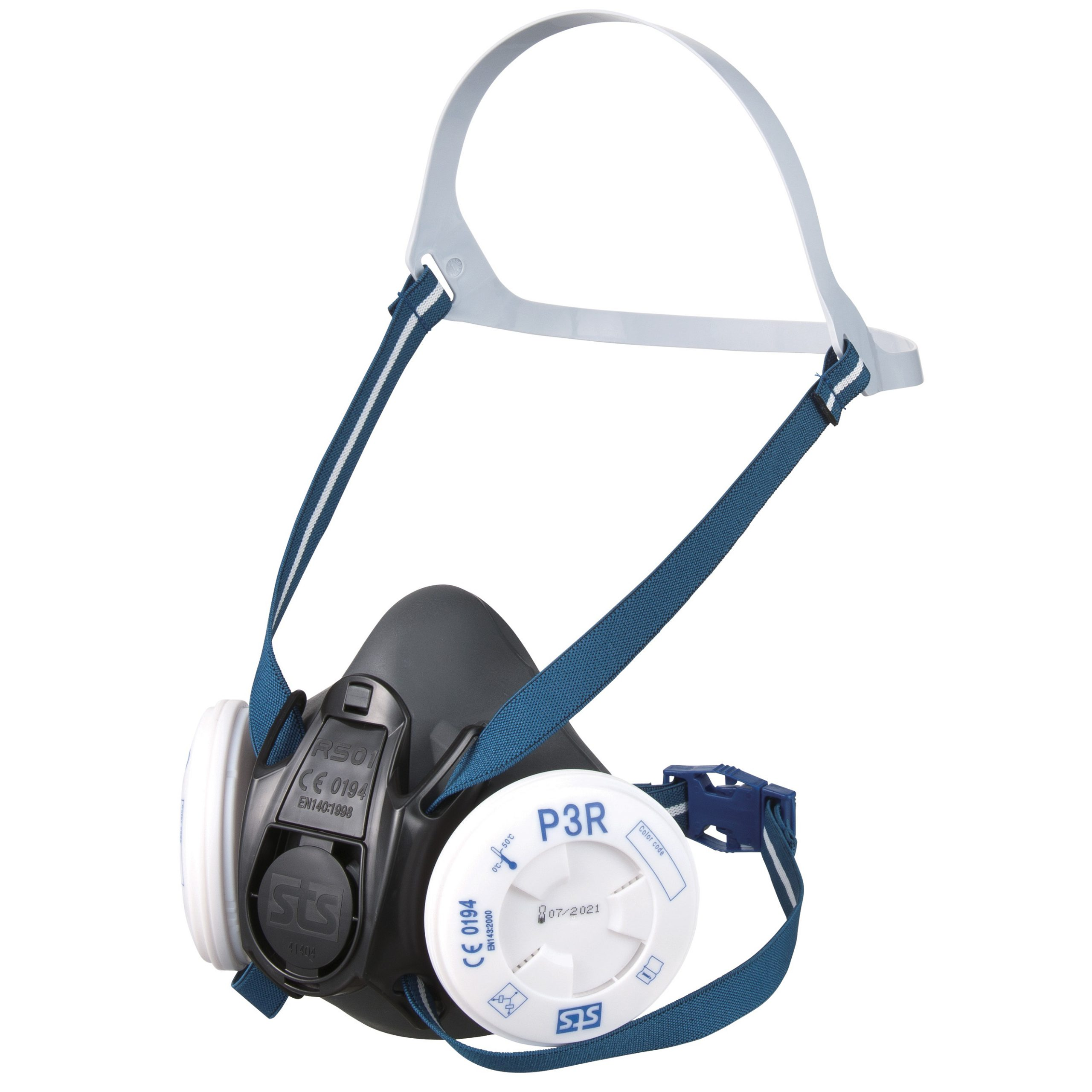 RS01 TPE Half Mask Respirator - Particle Kit